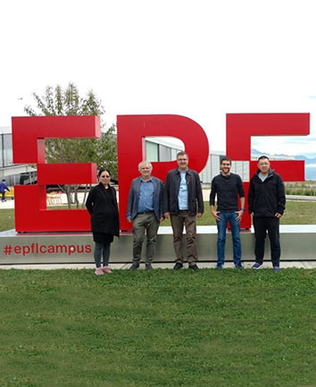 Visit to EPF Lausanne