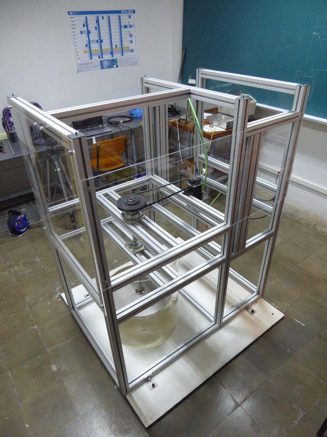 Figure 2-. Test rig final assembly