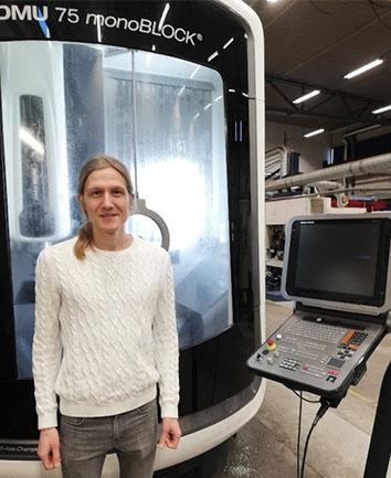 LTU visits workshop company to discuss turbine manufacturing