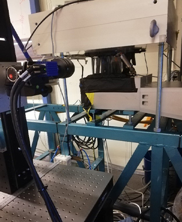 PIV measurements at the LTU test rig are underway