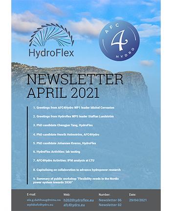 Newsletter April 21