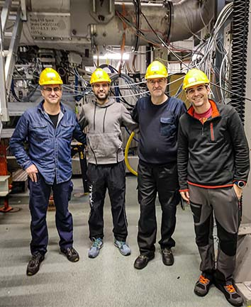 Completing first measurements in Älvkarleby